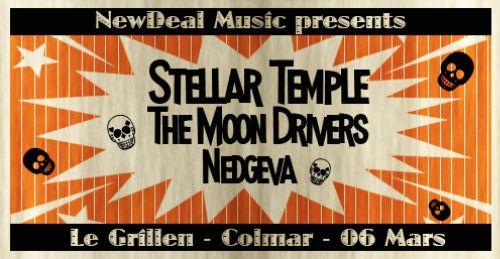 Annulé : STELLAR TEMPLE live au Grillen
