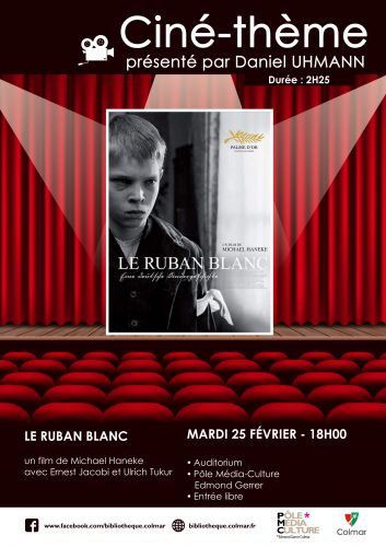 Ciné-thème - Le Ruban blanc de Michael Haneke