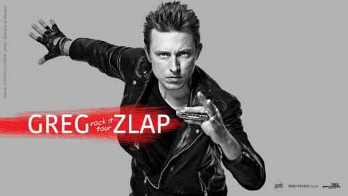 GREG ZLAP Rock it Tour