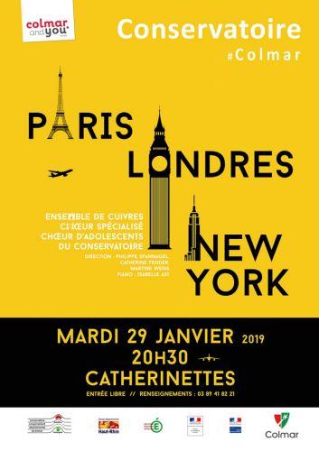 Paris-Londres-New York