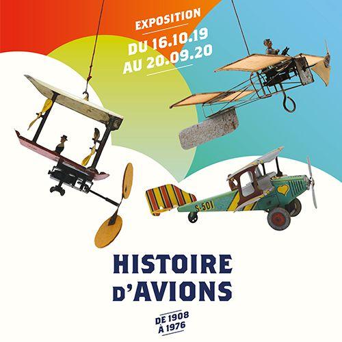 Histoire d'avions - exposition temporaire