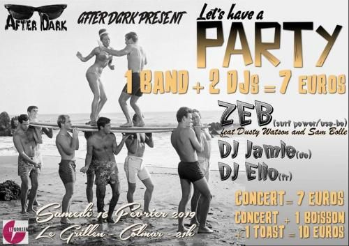 Let's have a party! El ZEB (Surf Music) * DJ Jamie * DJ Elio