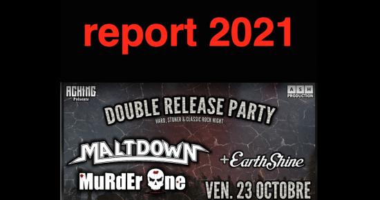Release Party // Maltdown - Murder one - Earthshine
