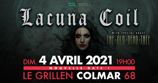 Lacuna Coil + The Old Dead Tree