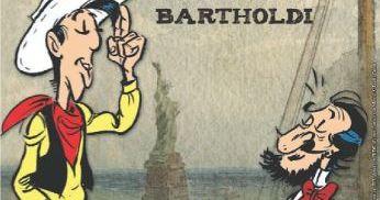Il était une fois dans l'Ouest, Lucky Luke sur les pas de Bartholdi