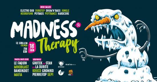 Madness Therapy w/ Fraktal Beats