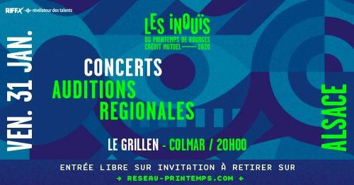 INOUïS2020 | Auditions Alsace / Le Grillen