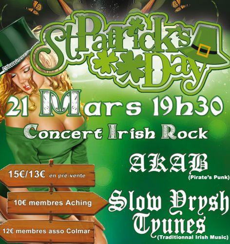 Annulé : Festival de la Saint Patrick AKAB + Slow Yrysh Tyunes