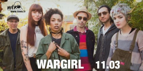Annulé : WARGIRL + Between Owls